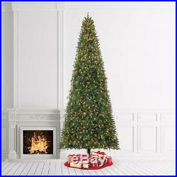 12 Foot Christmas Tree Realistic with Lights Tall Lighted Artificial Pre-Lit