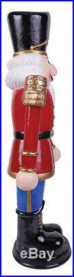 3 Ft Animated Nutcracker Soldier Blow Mold Outdoor Christmas Yard Decor