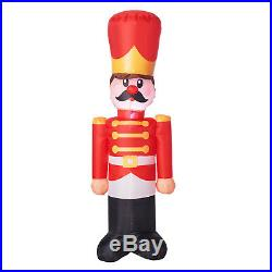 4 Ft Outdoor Christmas Lighted Toy Soldier Airblown Yard Inflatable Decoration