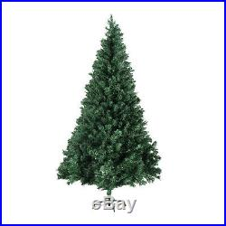 6FT Unlit Christmas Tree with Stand Indoor Outdoor Holiday Season Artificial PVC