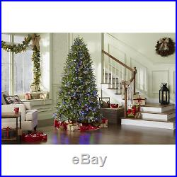 7.5' Dual ColorSwitch Plus LED Regal Fir Artificial Christmas Tree with800 Lights