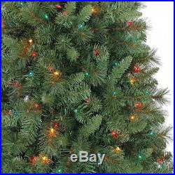 7.5ft Pre-Lit Coloring Changing LED Bulbs Pine Christmas Tree Brand New Unopened