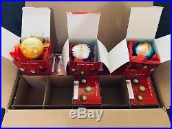 Alessi Christmas Decorations Baubles Set of 10 OPENED NEVER USED