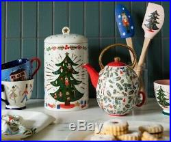 Anthropologie Rifle Paper Co Nutcracker Cookie Jar NEW 2019 Christmas Sold Out