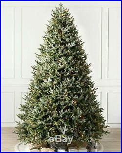 Balsam Hill BH Fraser Fir Artificial Christmas Tree 7.5 Ft Multi With Easy Connect