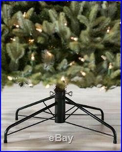 Balsam Hill BH Fraser Fir Christmas Tree 7.5 Ft Color + Clear LED W Easy Connect