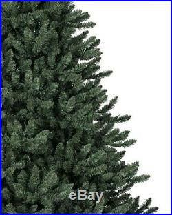 Balsam Hill Classic Blue Spruce Artificial Christmas Tree 6.5 Ft Clear