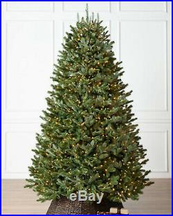 Balsam Hill Fraser Fir Narrow Tree 7.5x52 with Clear Light with storage bag
