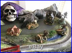 Ghost Land N Scale Train Layout
