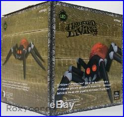 Halloween Gemmy 14 ft Giant Projection Happy Spider Airblown Inflatable NIB