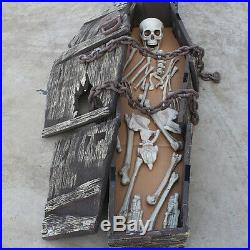 Halloween Simulation Scary Horror Toy Foam Simulation Coffin Festive Tricky Toy