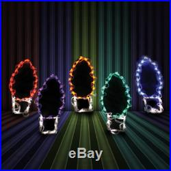Jumbo C9 Christmas Lights Holiday Outdoor LED Lighted Decoration Steel Wireframe