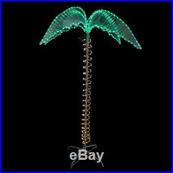 Northlight 7 Green and Tan Palm Tree Rope Light Outdoor Decoration