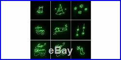 Philips Indoor / Outdoor Laser Christmas Green Animated Motion Projector Green