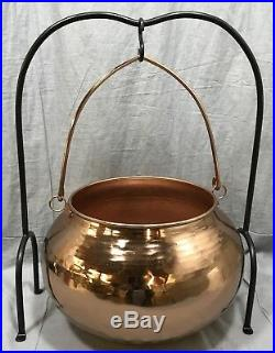 Pottery Barn Copper Candy Cauldron Large