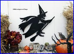Pottery Barn Witches Cottage Wall Art -nib- Get Swept Up Into Iconic Décor