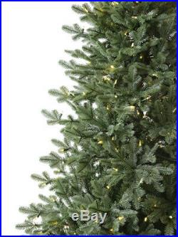Real Feel Balsam Spruce Christmas Tree, 6 ft, 46 in, LED Color Changing