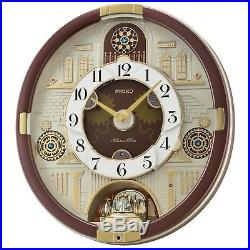 seiko 30 melodies in motion 2018 musical christmas wall clock collector edition - Musical Christmas Clock