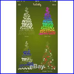 Twinkly App Controlled 225 LED Christmas Tree LED Lights Control With Your Phone