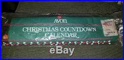 Vintage NEW Sealed in Package 1987 AVON Christmas Advent Calendar with Mouse