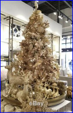 Z Gallerie 7.5 Pre-lit Champagne Gold Christmas Tree 500 Lights